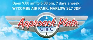 Approach Plate Airfield Cafe London High Wycombe Airport Opening
