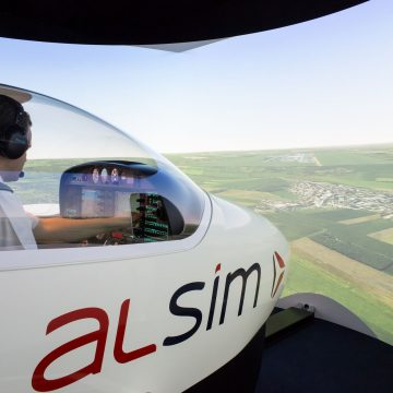 Simulator Experiences DA42 Twin Engine 1