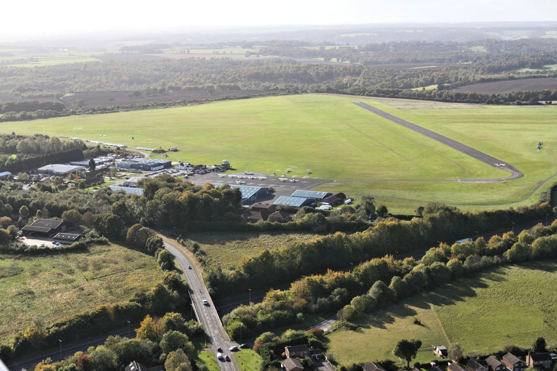 London Wycombe Air Park Hangarage for Aeroplanes, Helicopters, Parking, Fuel, Cafe